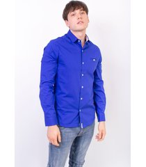 camisas azul abso cande