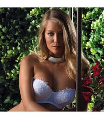 ambra lingerie bh's ninfee balconette bh wit 0860