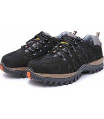bota adventure em couro dr shoes preto
