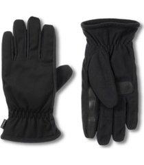 isotoner men's water repellent touchscreen gloves