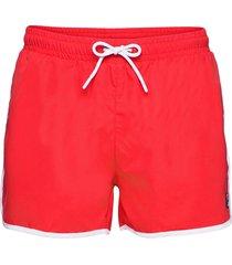 men sato swim shorts badshorts röd fila
