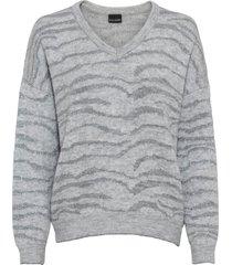 maglione con lurex (grigio) - bodyflirt