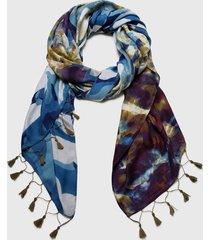 pañuelo bali multicolor desigual