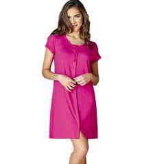 camisola demillus soltinha 30104 magenta - rosa - feminino - dafiti