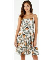 vestido  para mujer tennis, vestidos corto estampado flores y frutas
