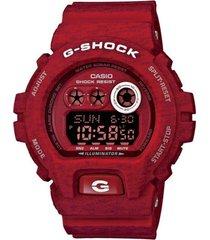reloj g-shock modelo gd_x6900ht_4 rojo hombre
