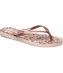 hav slim animals shoes summer shoes flip flops rosa havaianas