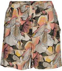 sc-ilise shorts flowy shorts/casual shorts röd soyaconcept