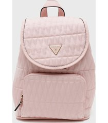 mochila layla backpack rosa guess