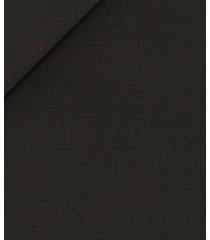 pantaloni da uomo su misura, vitale barberis canonico, twill marrone scuro, quattro stagioni | lanieri