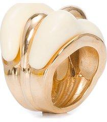 anel feminino veredas - branco