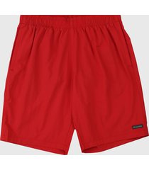 pantaloneta rojo columbia