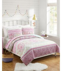 palm beach paisley twin 2-piece quilt set bedding