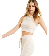 culpos x inc ribbed crop top, created for macy's