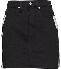 hr mini skirt kort kjol svart calvin klein jeans