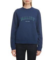 women's saint laurent malibu sweatshirt
