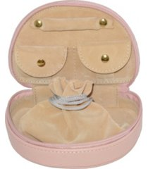 royce new york zippered compact jewelry case