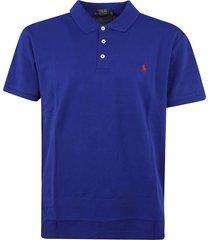 ralph lauren classic buttoned polo shirt