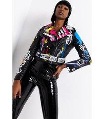 akira azalea wang make art graffiti moto jacket