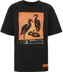 heron preston tape logo photo t-shirt