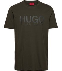dolive t-shirts short-sleeved grön hugo
