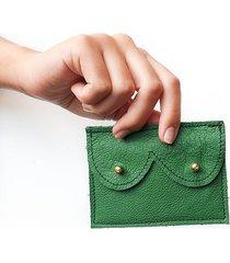 mini portfel zielony