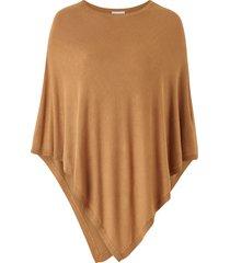 poncho vibolonia o-neck knit