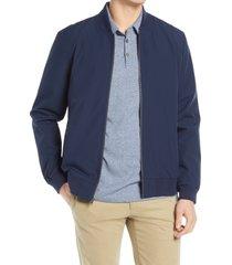 men's nordstrom bomber jacket, size 4x-large - blue
