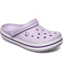 crocband blk shoes summer shoes lila crocs