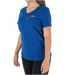 camiseta nike nsw lbr - feminina - azul escuro