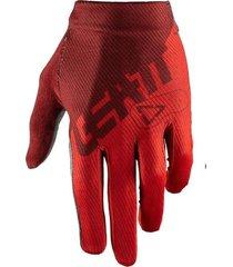 guantes rojo leatt dbx 1.0