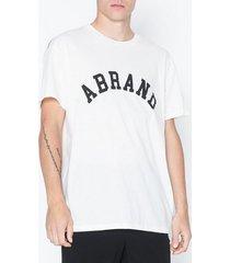 abrand jeans a brand tee t-shirts & linnen vit