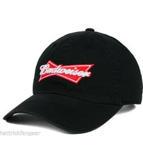 budweiser king of beers tow relaxed fit one size fits adjustable cap hat osfm