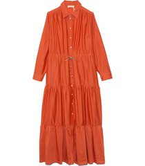 sicilia dress in arancio