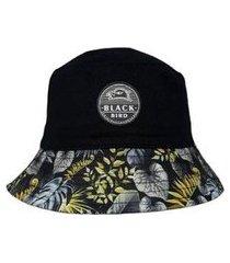chapéu black bird bucket hats prfa