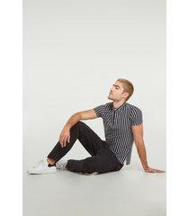 jeans unicolor koaj - negro