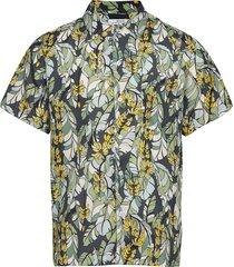 shirt short sleeve marstrand banana leaves kortärmad skjorta grön dedicated