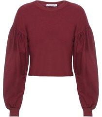 blusão avessado isabella fiorentino para oqvestir - vinho