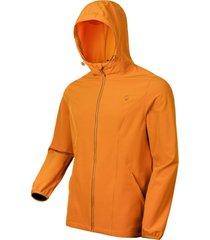 chaqueta hombre vento ptx hoodie amarillo doite