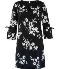 abito a fiori (nero) - bodyflirt