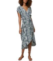 o'neill juniors' anna bungalow wrap dress