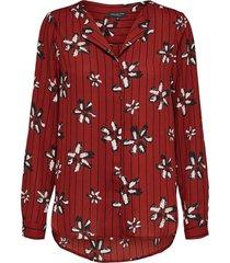 overhemd bloemenprint