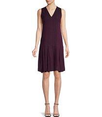 silk drop-waist dress