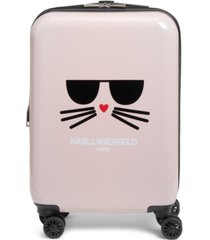 "karl lagerfeld paris kat 21"" hardside carry-on spinner"