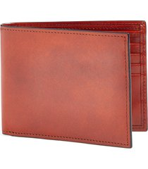 men's bosca old leather deluxe wallet - brown
