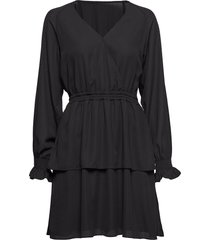 byron wrap dress kort klänning svart designers, remix