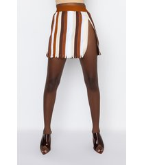 akira zip me up mini skirt with zipper trim
