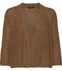 cardigans long sleeve stickad tröja cardigan brun marc o'polo
