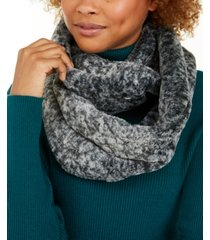 calvin klein solid faux fur infinity scarf