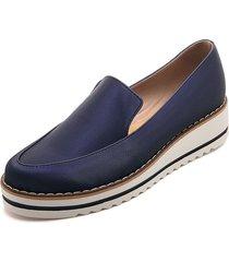 zapato azul rey moca emilia